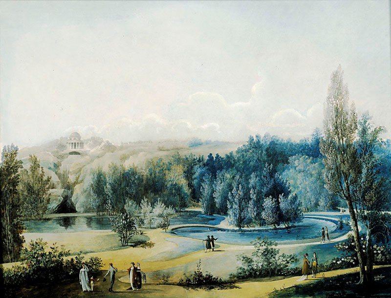 Hagaparken, Louis Belanger 1808, Stadsmuséet