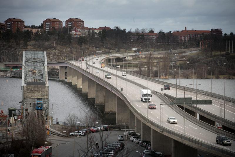 Bro Lidingöbron från 1971