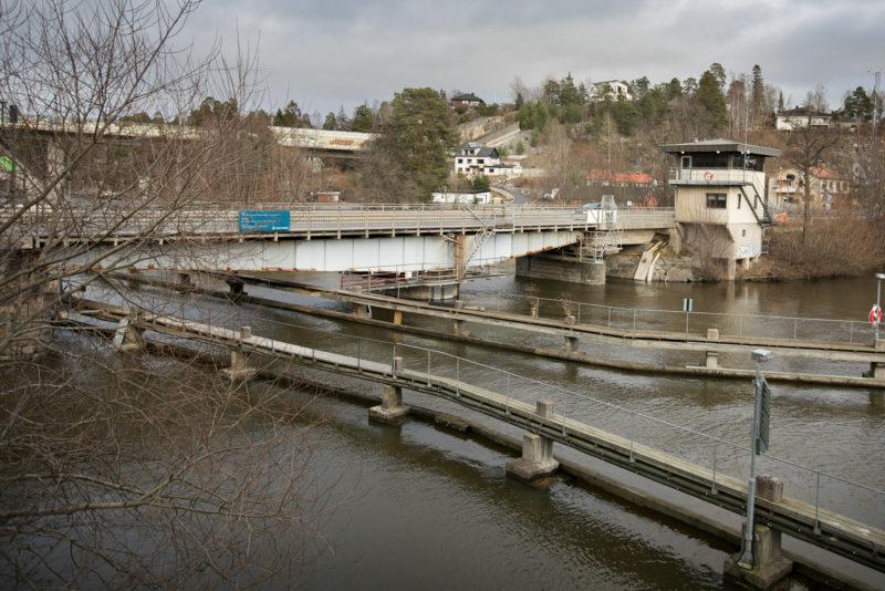 Gamla Stäketbron mellan Järfälla och Upplands-Bro