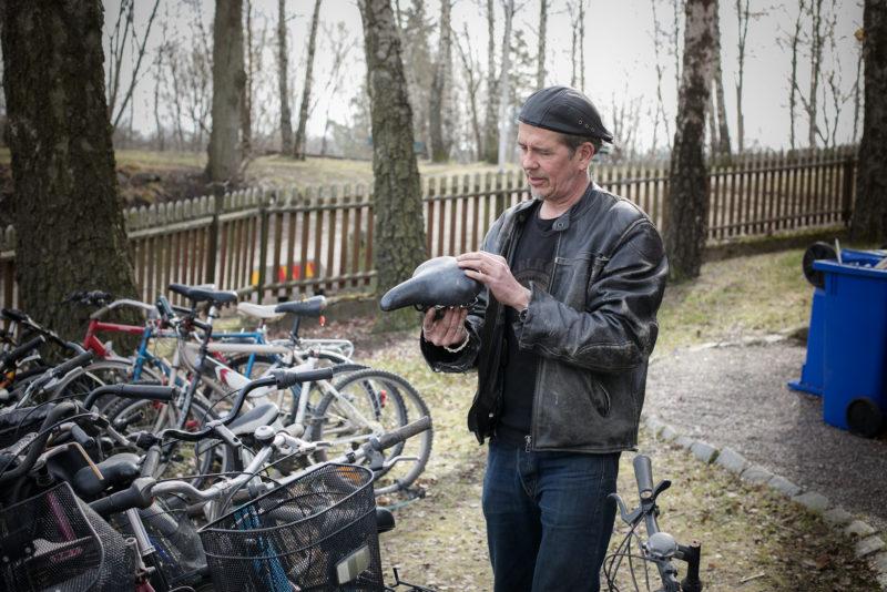 Thomas Rörby i Cykelköket i Hagalund i Solna