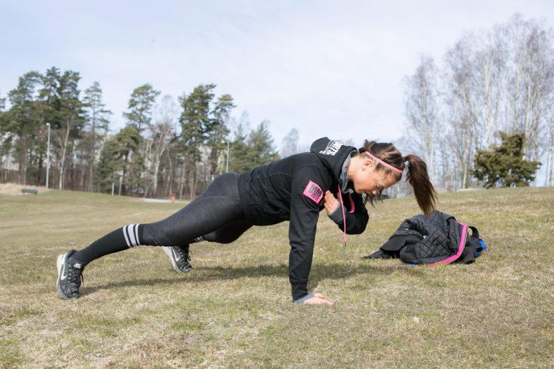 PT Daniela Westerberg i Sundbyberg tipsar om träning i Coronatider