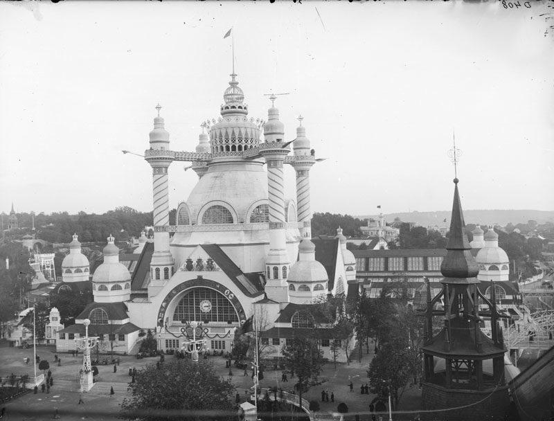 Industrihallen var den största byggnaden på hela utställningen 1897.
